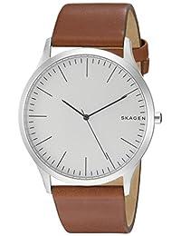 Skagen Men's Jorn Leather Watch