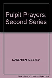 Pulpit prayers – tekijä: Alexander…
