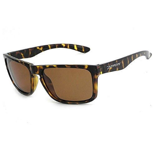 (Peppers Sunset Blvd Sunglass Dark Tortoise w/BROWN POLARIZED Lens One size)