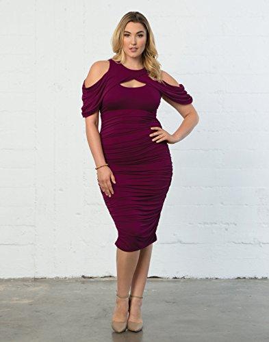 ec8eb9c50a7 ... Plus-Size Kiyonna Women s Plus Size Bianca Ruched Dress.   