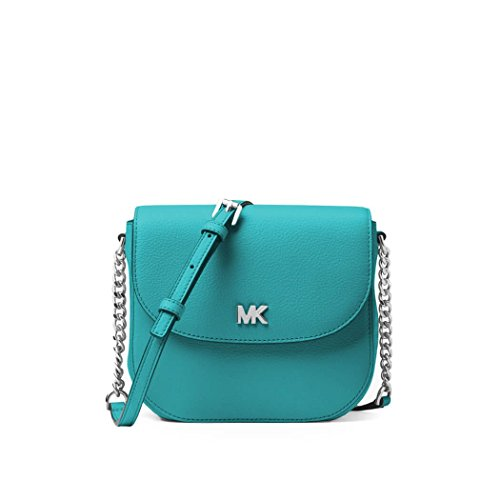 Women's Accessories Michael Kors Half Dome Tile Blue Crossbody Spring Summer ()