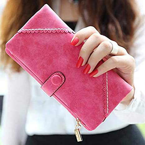 Amazon.com: Bingo Point Women Wallet Women Leather Wallet ...