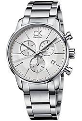 Men's Calvin Klein ck City Chronograph Dress Watch K2G27146