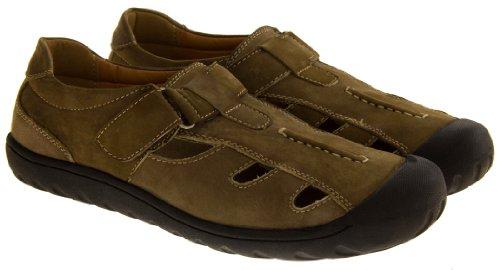 Shoes Click - Zapatos de cordones de Material Sintético para hombre Marrón canela O08Pad
