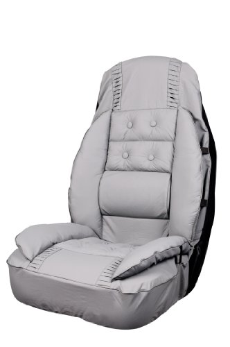(Allison 66-6006GRY Gray Euro Glove Universal Bucket Seat Cover - Pack of 1)