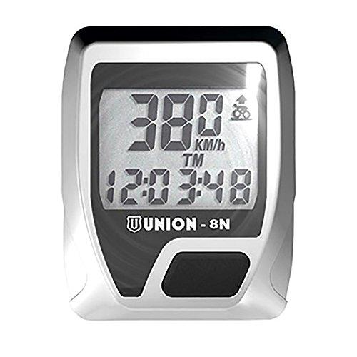 UNION - 32704/213 : Cuentakilometros ciclocomputador 8 funciones union n