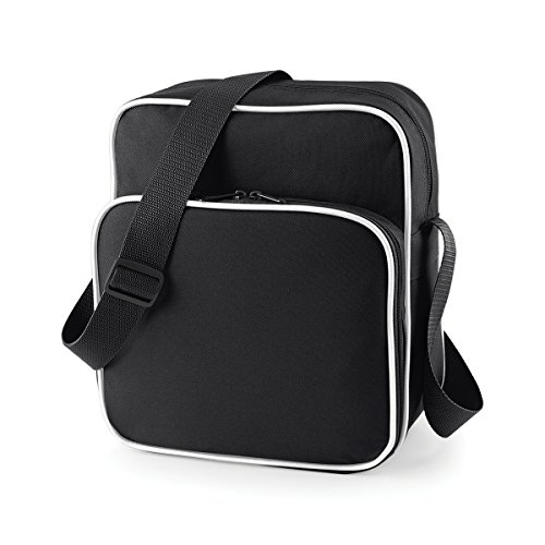 Loisirs 29x33x14cm Style Sac Bagbase Jour Unisexe Bracelet Black White Retro 10l Poche wxUzBS
