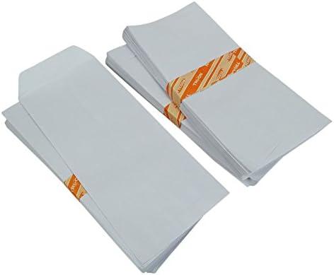 Amazon.com: 250 Pcs Sobre Blanco Business sobres de correo 9 ...