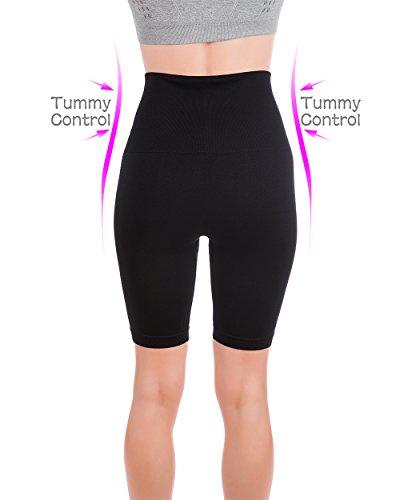 Homma Women's Tummy Control Fitness Workout Running Bike Shorts Yoga Shorts