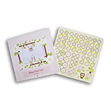 Baby's First Year Calendar - Girl with Stickers