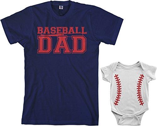Baseball Dad & Baseball Infant Bodysuit & Men