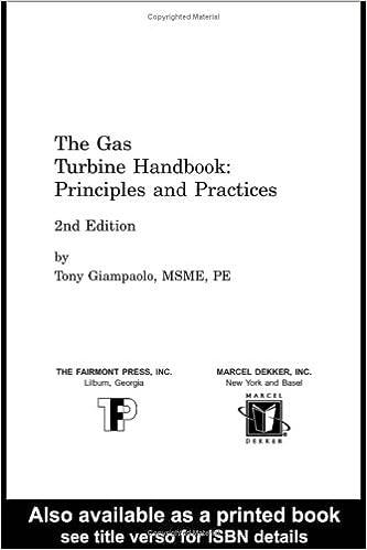 The Gas Turbine Handbook: Principles and Practices: Amazon