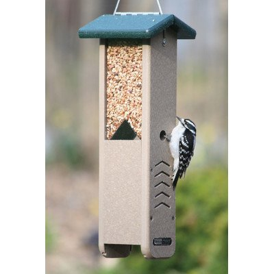 (Birds Choice Woodpecker Feeder with Green Roof (SNWP))