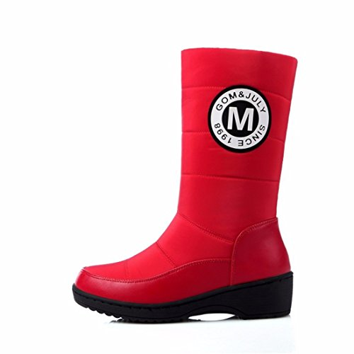 cotton add shoes boots in students winter size snow gules Warm shoes TqtAww