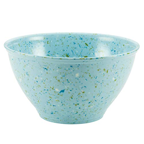 (Rachael Ray 47643 Melamine Garbage Bowl 1 Piece Light Blue)