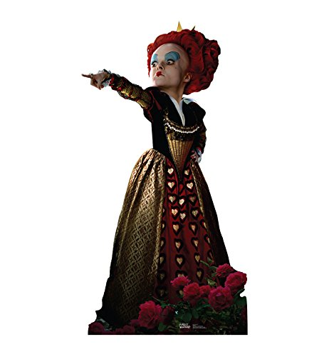 New 2010 Queen - Advanced Graphics Red Queen Life Size Cardboard Cutout Standup - Disney's Alice in Wonderland (2010)