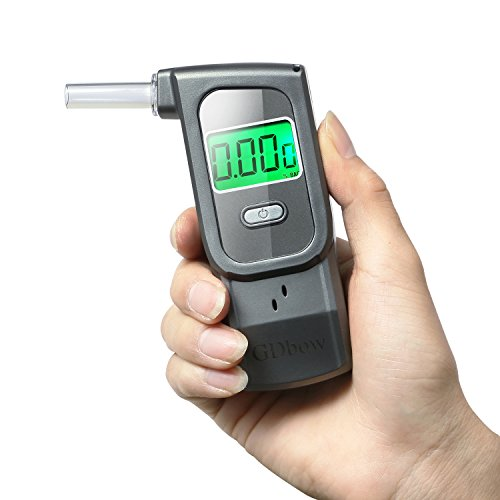 GDbow Portable Breathalyzer Alcohol Tester Recording 32 Testing Results with 5 Mouthpieces for Personal Use -Lead by GDbow (Image #8)