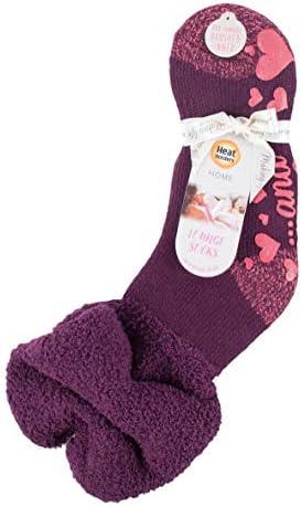 CheChury Warme Flauschige Socken f/ür Frauen Pl/üsch Korallen Socken Kuschel Katzenpfoten Socken Winter gem/ütlich M/ädchen Super Weich Fuzzy Home Bett Socken mit Sch/önem Wintergeschenk Frauen