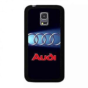 New Style Audi Logo Funda,Audi Logo Samsung Galaxy S5 MINI Case,Audi Funda Black Hard Plastic Case Cover For Samsung Galaxy S5 MINI