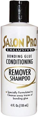 Salon Pro Bonding Glue Remover Shampoo 4 Oz (Best Shampoo For Weave)