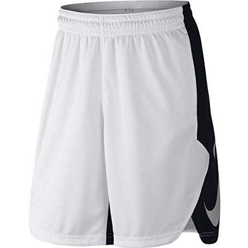 Nike Men's Hyperelite Power Shorts, White (X-Large) (Cheapest Ticket)