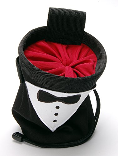 Pure Grit Tuxedo Celebration Chalk Bag (Made in Usa) with Belt