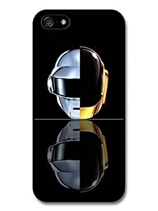 Daft Punk Double Helmet Mirrored Portrait Case For HTC One M8 Cover
