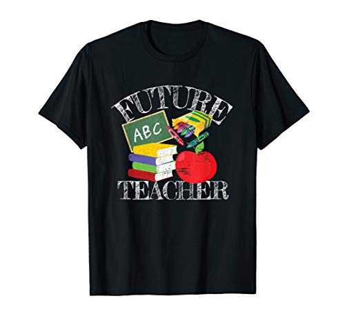 Future Teacher Costume Tee for Men Women Adults and Kids