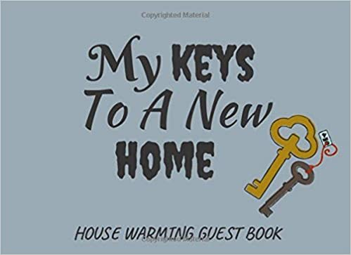 My Keys To A New Home Funny House Warming Gift Gag Gift