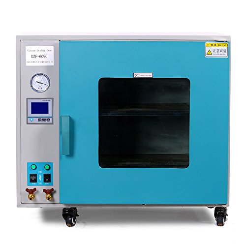 Oven 3.2 Cu Ft 90L Digital Heating Drying Oven Stainless Steel Vacuum Chamber ()