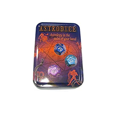Astrodice: Astrology Divination Fortune Telling Dice: Toys & Games