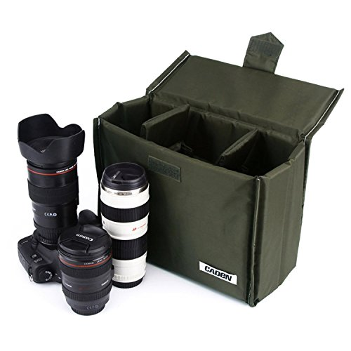 Insert DSLR Inner Lens Bag Waterproof Shockproof Travel Came