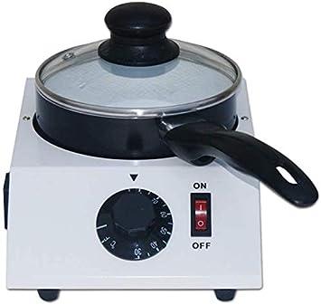 NOBRAND Home - Fuente de chocolate eléctrica para fondue de chocolate, color blanco, 1 pot