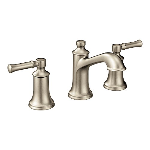 Review Of Moen T6805BN Dartmoor Two-Handle Low Arc Bathroom Faucet, Brushed Nickel
