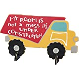 Dump Truck Sign MY ROOM IS NOT A MESS IT'S UNDER CONSTRUCTION by MGS