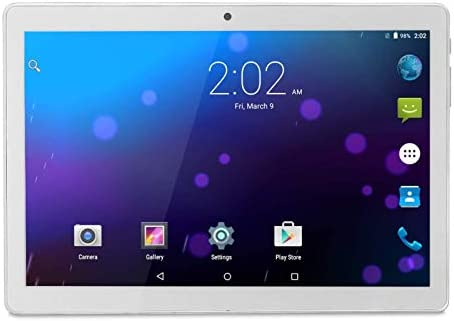Android Tablet 10 Inch, Phablet Unlocked 3G [Android 8.1 Go] [GMS Certified] 10 Inch Tablet with Dual Sim Card Slots and Cameras, 1280 x 800 IPS, 16GB, Bluetooth, WiFi, GPS, OTG