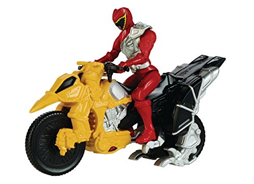 "Power Rangers Dino Super Charge - Dino Cycle with 5"" Red Ranger Action Figure"