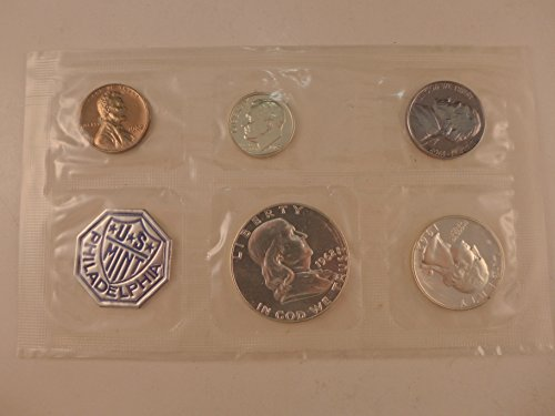 1962 US Proof Set Proof Set 5 coins Silver Mint State ()