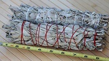 White Sage Smudging Stick - Large (8'-9.5') - 2 Pack