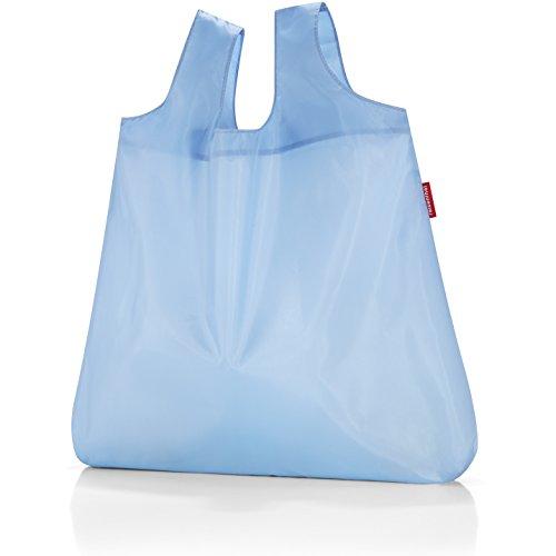 Reisenthel - Mini maxi shopper , bolsa de compras, bolso de compras , old style, aruba blue, ao4040 Azul - old style pastel blue
