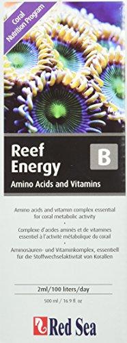 Red Sea Fish Pharm ARE22093 Reef Energy Amino Acids and Vitamins Nutrition-B for Aquarium, 500ml