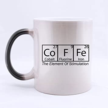 11 ounce novelty funny quotes coffee periodic table of elements 11 ounce novelty funny quotes coffee periodic table of elements color changing mug morphing coffee urtaz Image collections