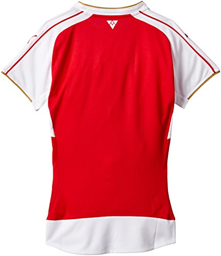 PUMA camiseta AFC Home del equipo Borussia Dortmund Rojo - High Risk Red/White/Victory Gold