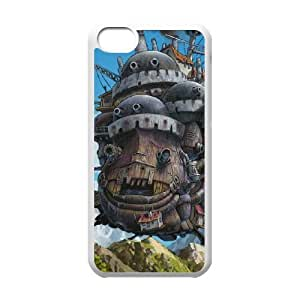 iPhone 5c Case Covers White Howl's Moving Castle T1NM