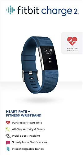 Fitbit Charge 2 Heart Rate + Fitness Wristband, Blue, Small (US Version) by Fitbit (Image #5)