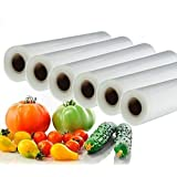 Vacuum Food Sealer Roll Bags 28cm X 5m Saver Seal Storage Heat Commercial Grade Bag Rolls for Food Saver and Sous Vide (6)