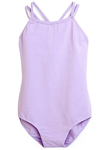 Apexsolaire Girls' Double Strap Camisole Leotard (55