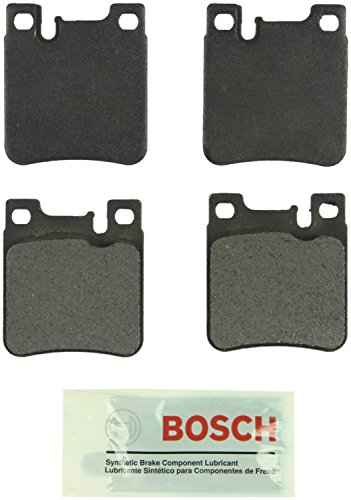 Bosch BE603 Blue Disc Brake Pad Set for Select 1992-10 Chrysler, Mercedes-Benz, and AMG Sedans, Coupes, and Convertibles - REAR