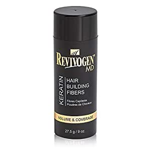 Revivogen Hair Fiber Dark Brown 27.5g by Caboki - 27.5g