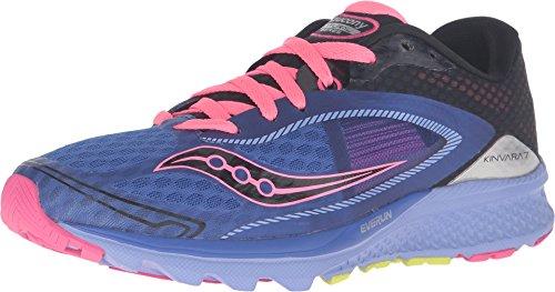 Saucony Women's Kinvara 7 Running Shoe - Blue/Black/Pink ...
